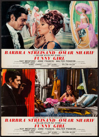 "Funny Girl (Columbia, 1968). Photobusta Set of 8 (18"" X 26""). Musical. ... (Total: 8 Items)"