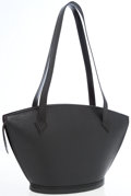 Luxury Accessories:Bags, Louis Vuitton Black Epi Leather Saint Jacques PM Tote Bag. ...