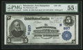 National Bank Notes:New Hampshire, Winchester, NH - $5 1902 Plain Back Fr. 598 The Winchester NB Ch. # (N)887. ...