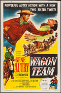 """Movie Posters:Western, Wagon Team (Columbia, 1952). One Sheet (27"""" X 41""""). Western.. ..."""