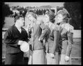 "Movie Posters:Comedy, The Andrews Sisters and Lou Costello In the Navy (Universal, 1941). Kodak Safety Negative (7.75"" X 9.75""). Comedy.. ..."