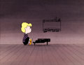 Animation Art:Production Cel, Charlie Brown/Peanuts Schroeder Production Cel Set-Up (Bill Melendez Studios, 1980s)....