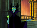 Animation Art:Production Cel, Sleeping Beauty Maleficent Production Cel Set-Up (WaltDisney, 1959).... (Total: 3 Items)