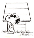 "Original Comic Art:Illustrations, Charles Schulz Snoopy as ""Joe Cool"" Peanuts Illustration Original Art (1970s)...."