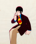 Animation Art:Production Cel, Beatles Yellow Submarine Paul McCartney Production CelSet-Up (United Artists/King Features)....