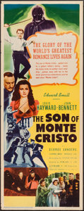 "Movie Posters:Adventure, The Son of Monte Cristo (United Artists, 1940). Insert (14"" X 36"").Adventure.. ..."