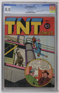 """Golden Age (1938-1955):Crime, TNT Comics #1 Davis Crippen (""""D"""" Copy) pedigree (Charles Publishing, 1946) CGC VF 8.0 Off-white pages. Only issue of title. ..."""