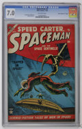 "Golden Age (1938-1955):Science Fiction, Spaceman #2 Davis Crippen (""D"" Copy) pedigree (Atlas, 1953) CGCFN/VF 7.0 Off-white pages. Joe Maneely and Jack Abel art. Ov..."