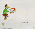 Animation Art:Production Cel, Woody Woodpecker and Buzz Buzzard Animation Production Cel andDrawing Original Art, Group of 4 (Walter Lantz Productions, und...(Total: 5 Items)