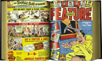 Feature Comics #40-51 Bound Volume (Quality, 1941). The issues cover-dated January through December 1941 are included he...