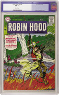 Silver Age (1956-1969):Adventure, Robin Hood Tales #8 (DC, 1957) CGC NM 9.4 Off-white pages. This rather obscure DC issue has turned up only twice before in o...
