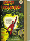 Golden Age (1938-1955):Adventure, Red Dragon Comics and Super Magician Comics Softcover Bound Volume (Street & Smith, 1943). Some inflammatory anti-Japanese p...