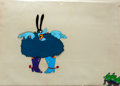 Animation Art:Production Cel, Beatles Yellow Submarine Chief Blue Meanie Production CelSet-Up (United Artists/King Features, 1968)....