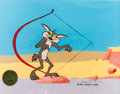 Animation Art:Production Cel, Chariots of Fur Wile. E. Coyote Production Cel Set-Up Signedby Chuck Jones (Warner Brothers, 1994)....