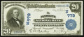 National Bank Notes:Massachusetts, Plymouth, MA - $20 1902 Date Back Fr. 642 The Plymouth NB Ch. # (N)779. ...