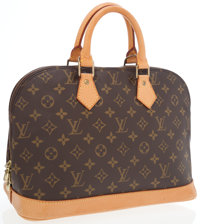 Louis Vuitton Classic Monogram Canvas Alma PM Bag
