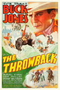 "Movie Posters:Western, The Throwback (Universal, 1935). One Sheet (27"" X 41"").. ..."