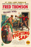 "Movie Posters:Western, The Fighting Sap (FBO, 1924). One Sheet (27"" X 41"").. ..."