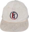 Golf Collectibles:Autographs, Golfing Greats Multi Signed Cap....