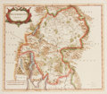 Books:Maps & Atlases, [Antique Map] Robert Morden. Westmorland. Approximately 17.5 by 15.5 inches. Originally published in Camden's B...