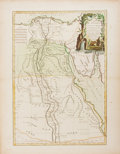 Books:Maps & Atlases, Rigobert Bonne (1727-1795). A wonderful hand-colored engraving, dated 1762, from Atlas Moderne ou Collection de Cartes s...