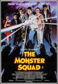 "Movie Posters:Adventure, Monster Squad (Filmpac, 1987). Australian One Sheet (27"" X 39"")Flat Folded. Adventure.. ..."