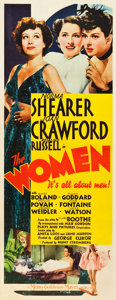 "Movie Posters:Comedy, The Women (MGM, 1939). Insert (14"" X 36"").. ..."