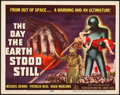 """Movie Posters:Science Fiction, The Day the Earth Stood Still (20th Century Fox, 1951). Title Lobby Card (11"""" X 14"""").. ..."""