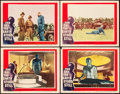 """Movie Posters:Science Fiction, The Day the Earth Stood Still (20th Century Fox, 1951). Lobby Cards(4) (11"""" X 14"""").. ... (Total: 4 Items)"""