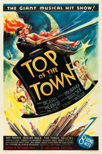"Top of the Town (Universal, 1937). One Sheet (27"" X 41"")"
