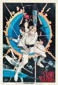 "Movie Posters:Science Fiction, Star Wars (20th Century Fox, 1977). Howard Chaykin PromotionalPoster (20"" X 29"").. ..."