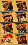 "Movie Posters:Crime, The Great O'Malley (Warner Brothers, 1937). Lobby Card Set of 8(11"" X 14"").. ... (Total: 9 Items)"