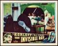 """Movie Posters:Horror, The Invisible Ray (Universal, 1935). Lobby Card (11"""" X 14"""").. ..."""