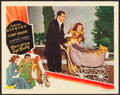 "Movie Posters:Comedy, Bringing Up Baby (RKO, 1938). Lobby Card (11"" X 14"").. ..."