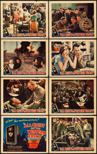 "All Quiet on the Western Front (Universal, 1930). Lobby Card Set of 8 (11"" X 14""). ... (Total: 8 Items)"