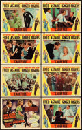 "Movie Posters:Musical, Carefree (RKO, 1938). Lobby Card Set of 8 (11"" X 14"").. ... (Total:8 Items)"