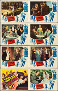 """Movie Posters:Musical, The Story of Vernon and Irene Castle (RKO, 1939). Lobby Card Set of 8 (11"""" X 14"""").. ... (Total: 8 Items)"""