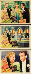 "Movie Posters:Musical, Top Hat (RKO, 1935). Lobby Cards (3) (11"" X 14"").. ... (Total: 3Items)"