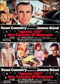 "Movie Posters:James Bond, Diamonds are Forever (United Artists, 1971). Italian Photobusta Set(12) (26"" X 18"").. ... (Total: 12 Items)"