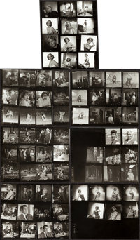 "From Russia with Love (United Artists, 1964). Contact Proof Sheets (20) (8"" X 10""). ... (Total: 20 Items)"