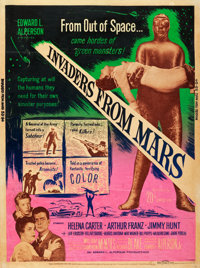 "Invaders from Mars (20th Century Fox, 1953). Poster (30"" X 40"")"