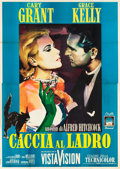 "Movie Posters:Hitchcock, To Catch a Thief (Paramount, R-1964). Italian 4 - Foglio (55"" X78"").. ..."
