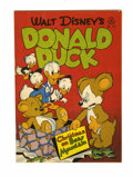 Golden Age (1938-1955):Cartoon Character, Four Color #178 Donald Duck Christmas on Bear Mountain (Dell, 1947) Condition: VG/FN....