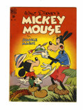 Golden Age (1938-1955):Funny Animal, Four Color #181 Mickey Mouse in Jungle Magic (Dell, 1948)Condition: FN+....