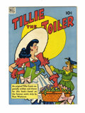 Golden Age (1938-1955):Humor, Four Color #195 Tillie the Toiler (Dell, 1948) Condition: VF+....