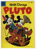 Golden Age (1938-1955):Cartoon Character, Four Color #654 Pluto - File Copy (Dell, 1955) Condition: VF+....