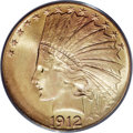 Indian Eagles, 1912 $10 MS66 PCGS....
