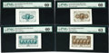 Fractional Currency:First Issue, Superb First Issue Die Proof Set....