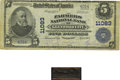National Bank Notes:Wisconsin, Glenwood City, WI - $5 1902 Plain Back Fr. 606 The Farmers NB Ch. # 11083. ... (Total: 2 items)