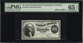 Fractional Currency:Fourth Issue, Milton 4S25F.1 25¢ Fourth Issue Plate Proof PMG Gem Uncirculated 65EPQ....